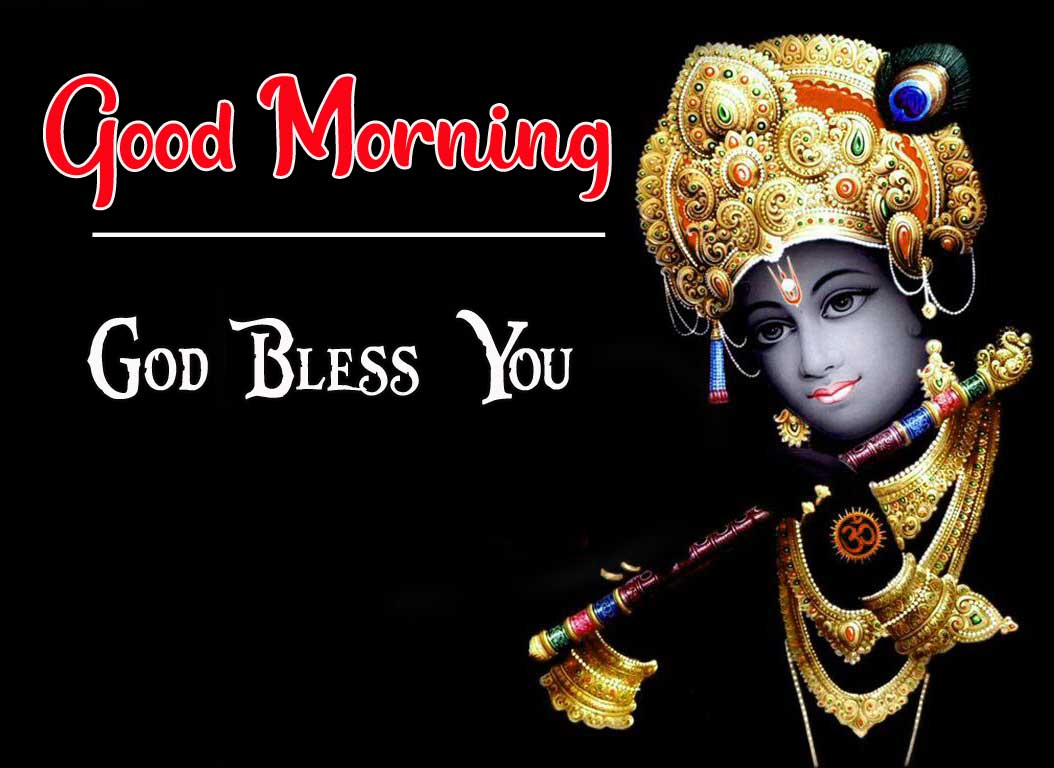 Radha krishna Good Morning Wallpaper Download