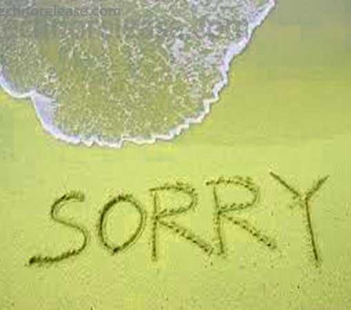 Sorry Whatsapp Dp Download Photo