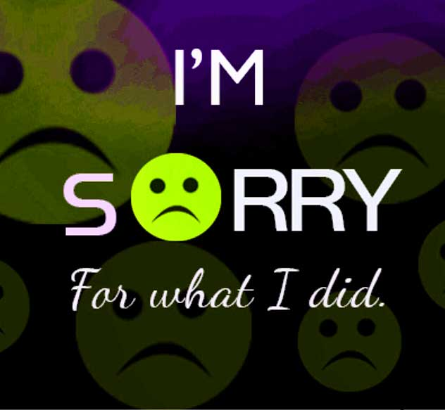 Sorry Whatsapp Dp Hd Images Pics