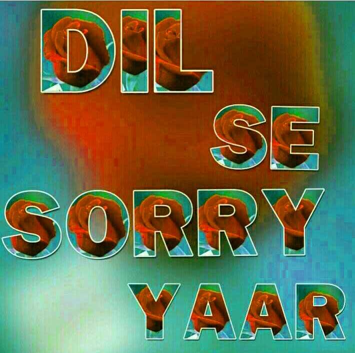 Sorry Whatsapp Dp PIcs Images