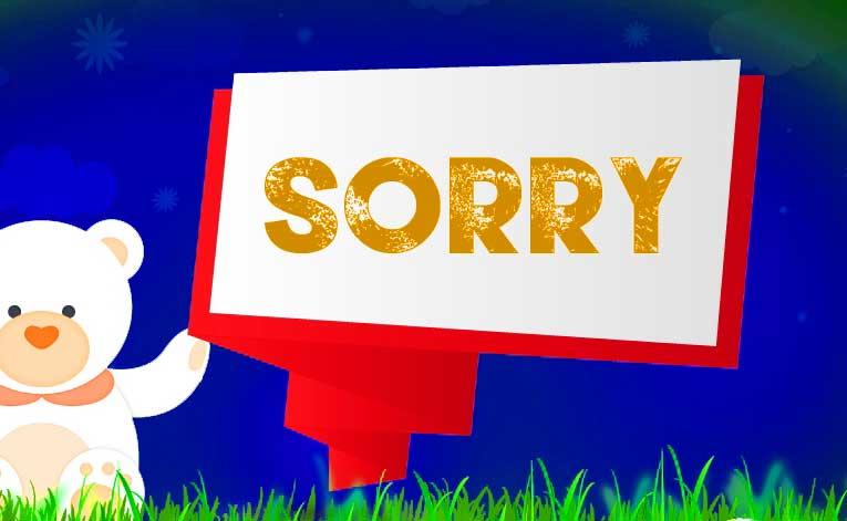 Sorry Whatsapp Dp Photo Hd