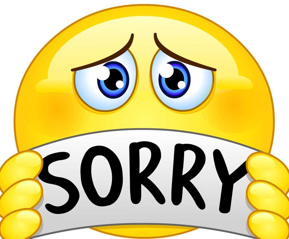 Sorry Whatsapp Dp Photo Wallpaper