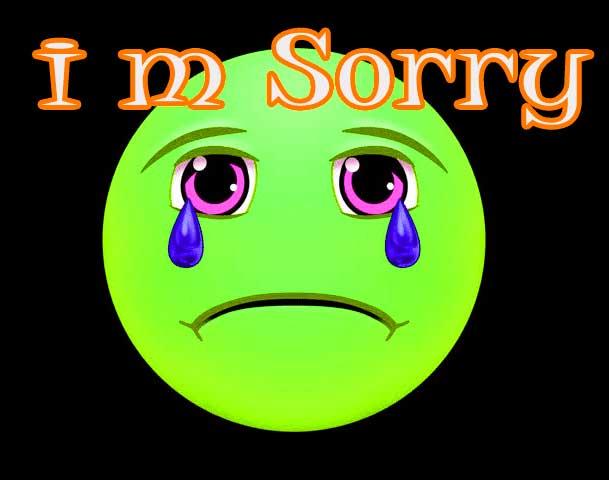 Sorry Whatsapp Dp Photo
