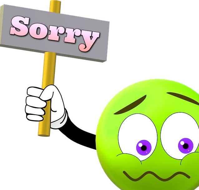 Sorry Whatsapp Dp Pics Free