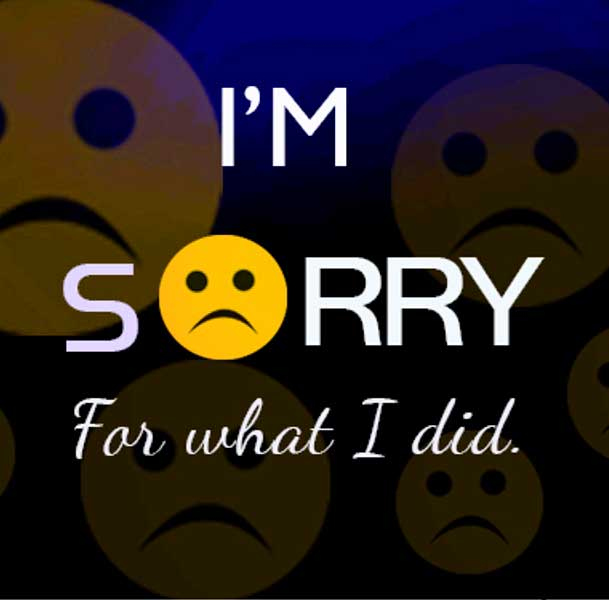 Sorry Whatsapp Dp Pics Images Hd
