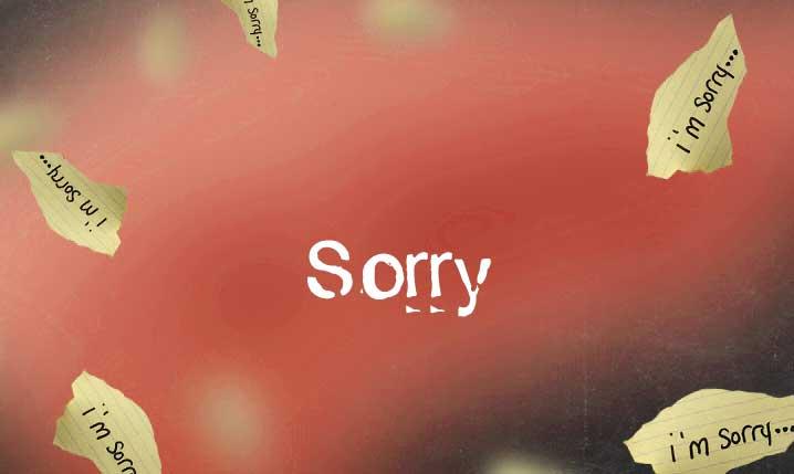 Sorry Whatsapp Dp Wallpaper hd