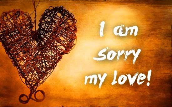 Sorry Whatsapp Dp
