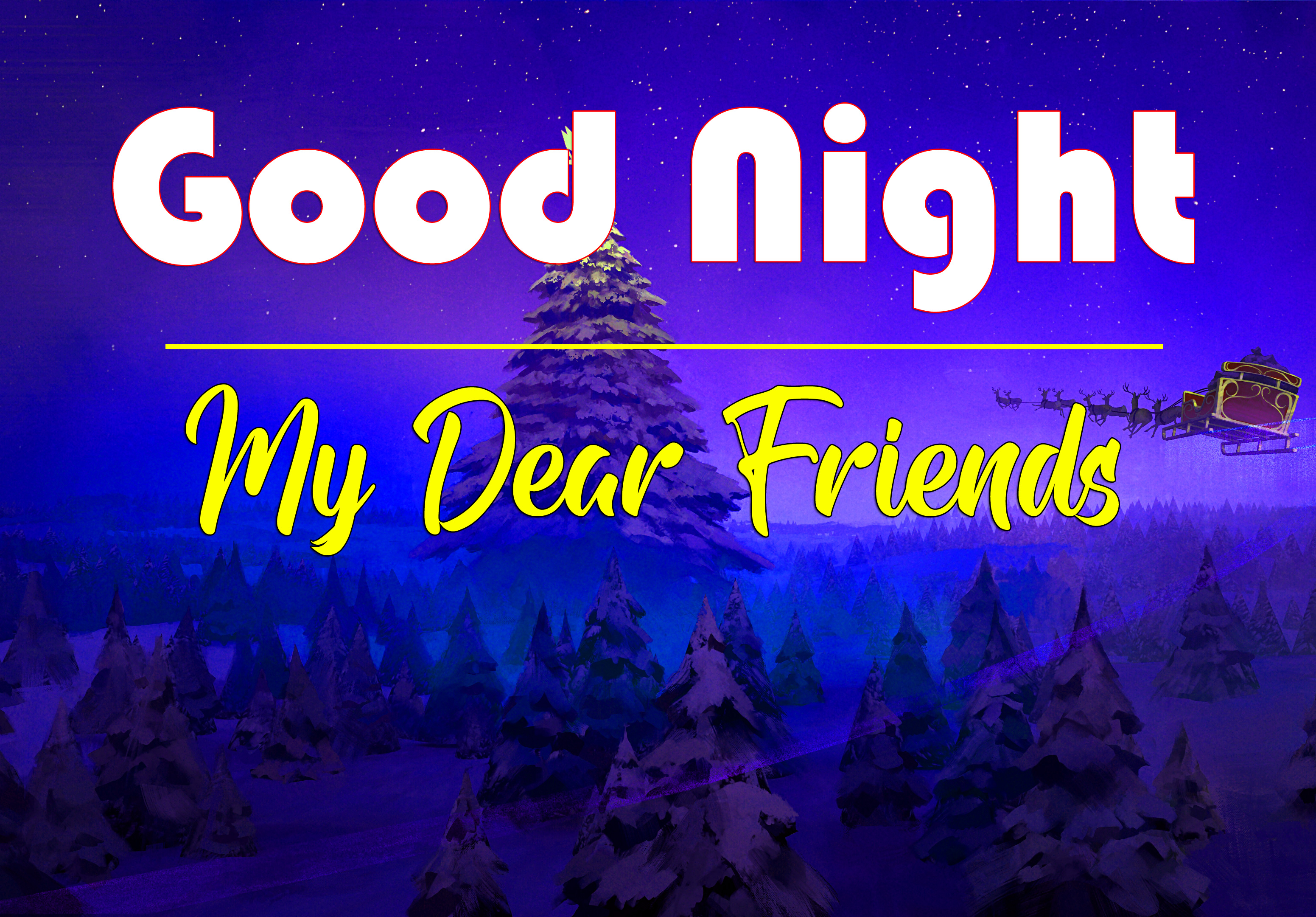 4k Good Night Images Wallpaper New Download