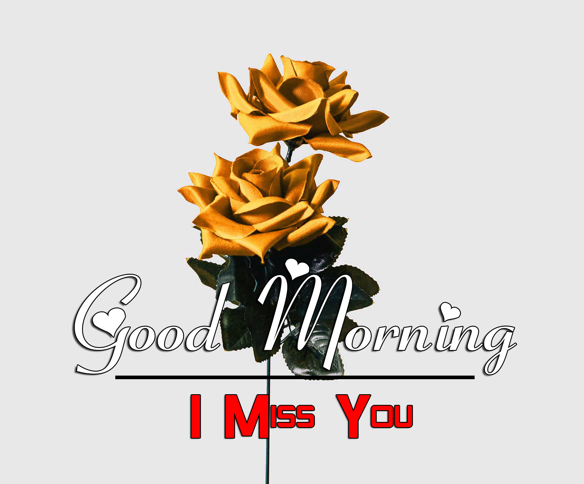 Best HD Good Morning Wishes Images With I Miss you