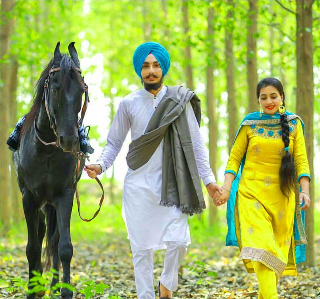 Best Punjabi Coupal Whatsapp Dp Wallpaper