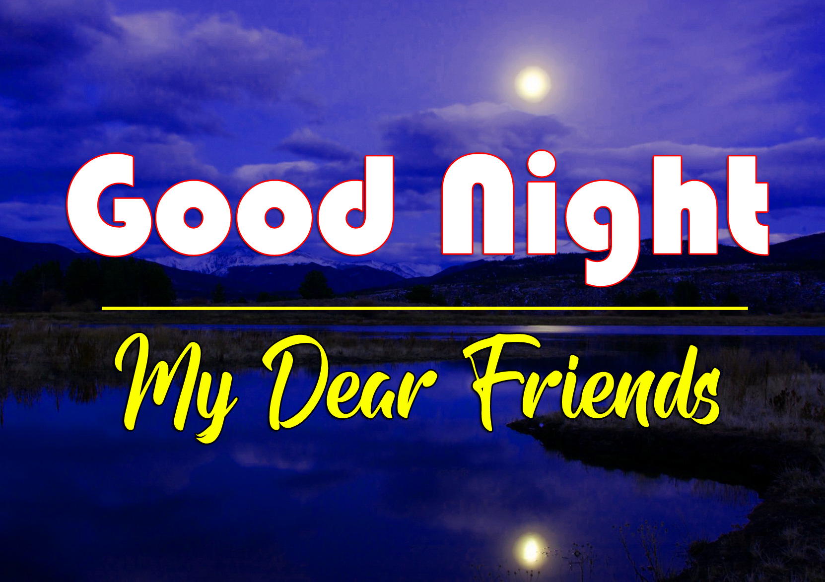 Latest Free 4k Good Night Images Pics Download 2