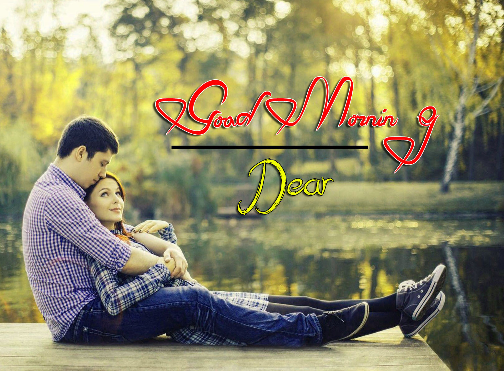 beautiful couple good morning images photo for hd