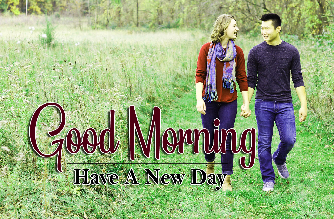 beautiful couple good morning images photo free download