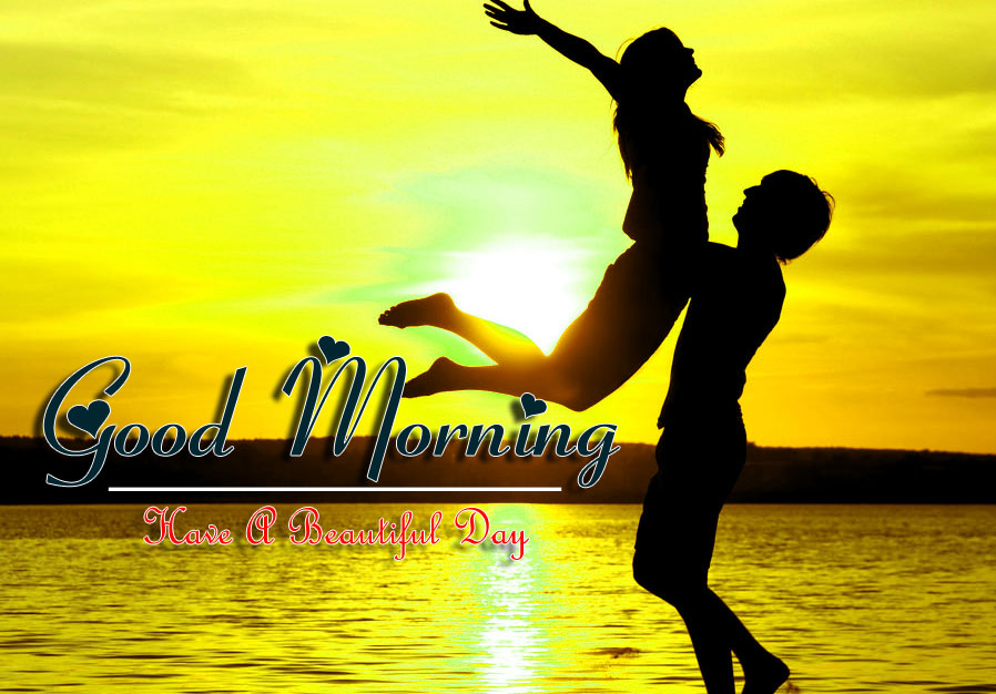 beautiful couple good morning images pictures free download