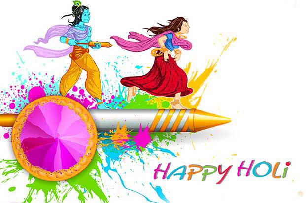 Free Radha Krishna Holi Images Download