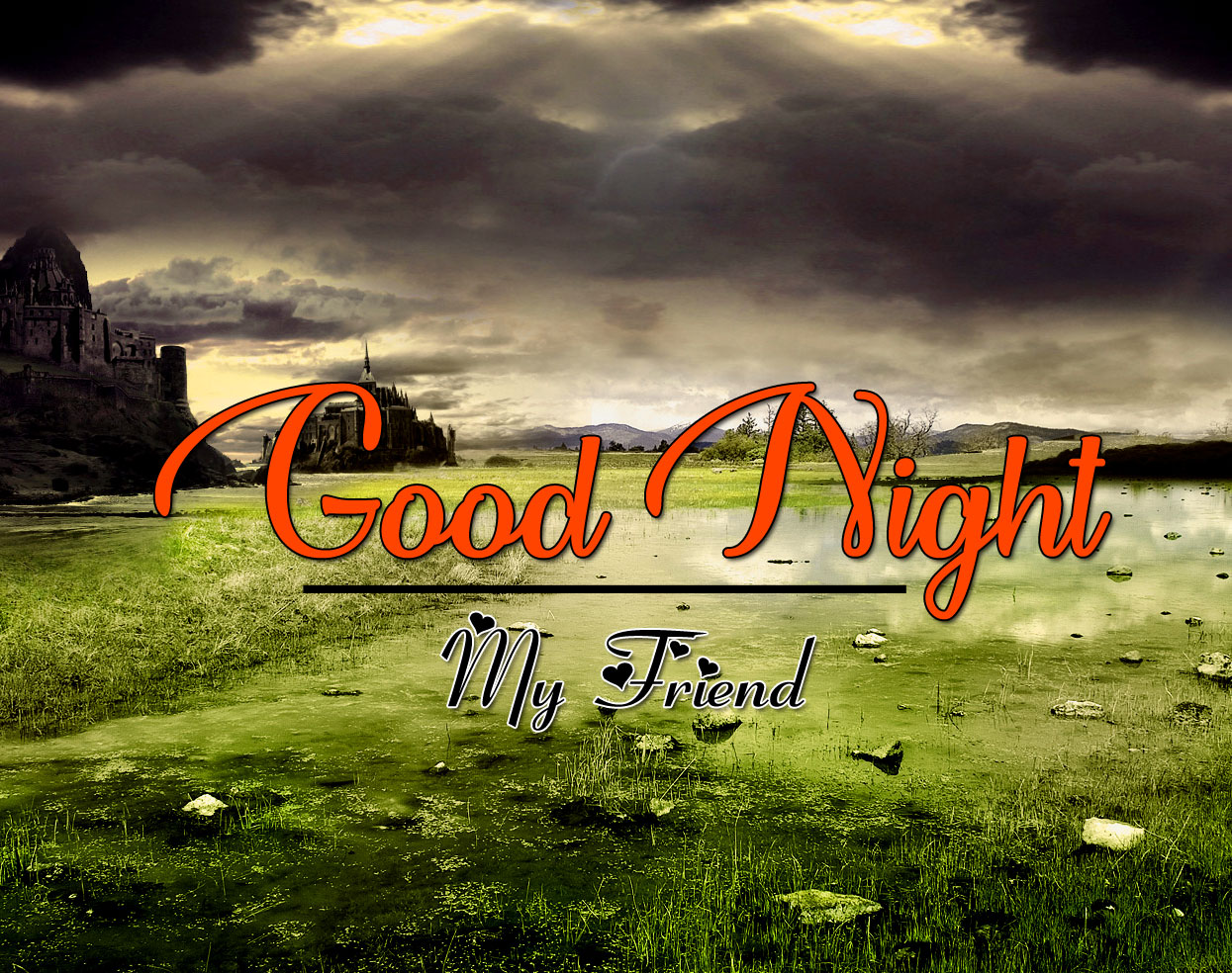 Good Night Wallpaper Photo