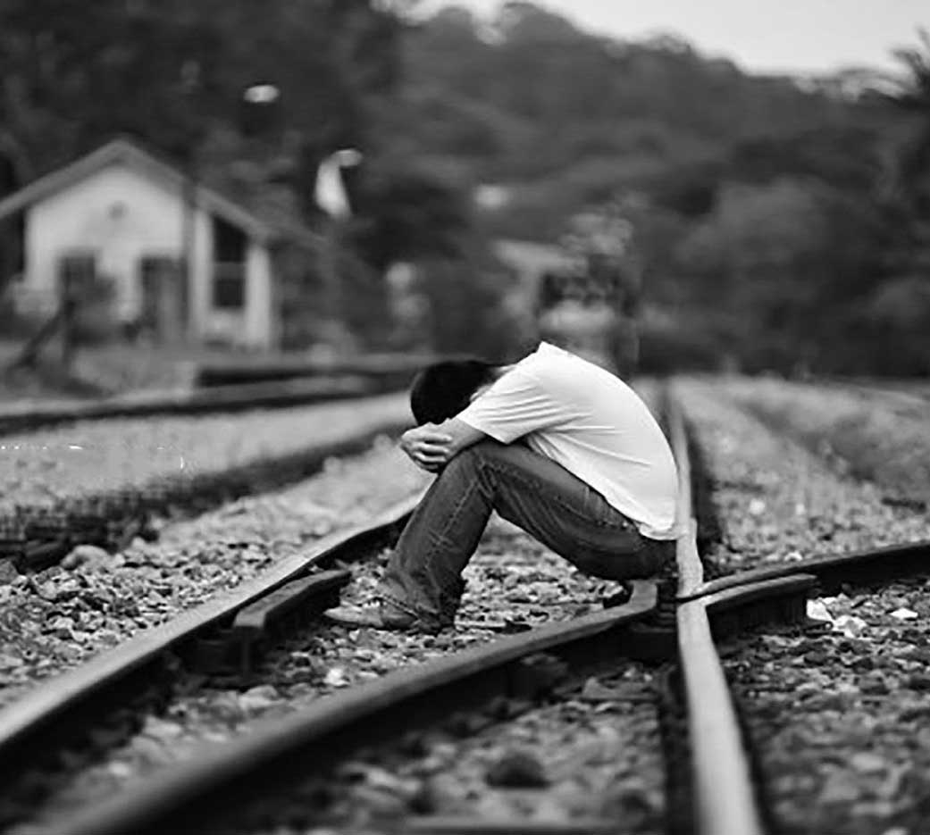 Sad Alone Black Whatsapp Dp Photo Download