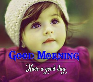Cute Baby Free Full HD Good Morning Images Pics Download