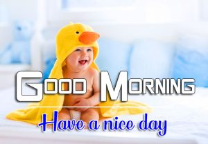 Cute Baby Full HD Good Morning Images Pics Download