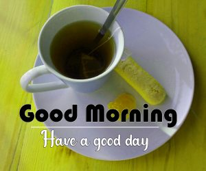 Free Good Morning Images Wallpaper With Tea Coffe