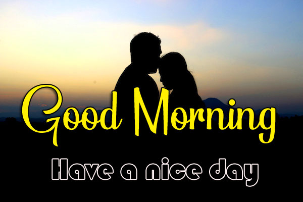 Romantic Love Couple Good Morning Images HD