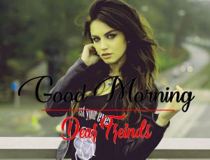 Good Morning Images Wallpaper With Beautiful Girls