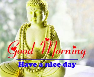 Good Morning all Images Pics With Buddha