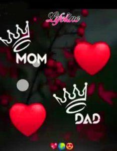 HD Mom Dad Whatsapp DP Wallpaper Download