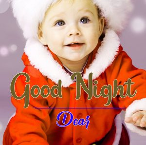 Latest Free Good Night Wallpaper With Cute Baby