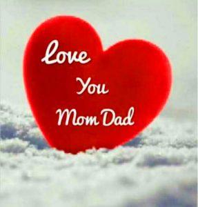 Mom Dad Whatsapp DP Photo