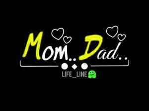 Mom Dad Whatsapp DP Photo Downlod