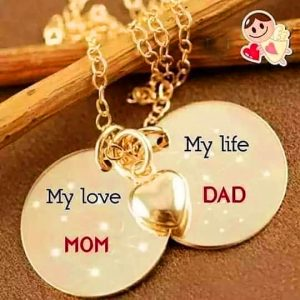 Mom Dad Whatsapp DP Photo Neq