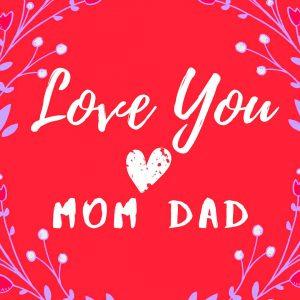 Mom Dad Whatsapp DP Wallpaper 2