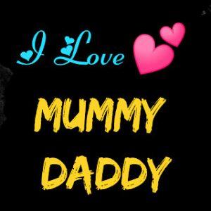 Mom Dad Whatsapp DP Wallpaper for Status