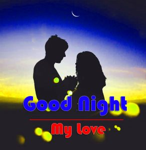 Romantic Couple Free Good Night Photo Download