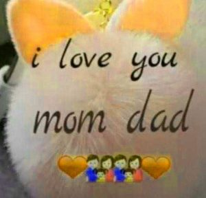 hd Mom Dad Whatsapp DP Wallpaper