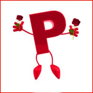 p letter dp for whatsapp Wallpaper Download 2