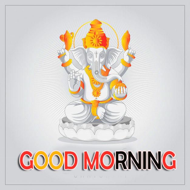 Good Morning Wallpaper With Ganesha