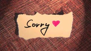 Sorry Whatsaap DP Images Photo Pics Download