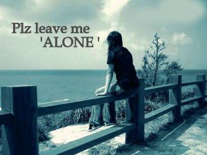 Alone Whatsaap DP Images HD Download