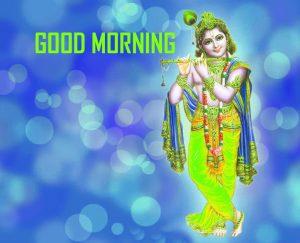 New Krishna Good Morning Photo Pics Free Download