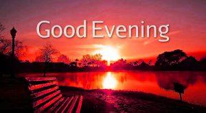 good evening photo wallpaper