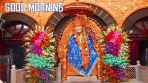 Om Sai Baba Good Morning Images Pictures Free Download