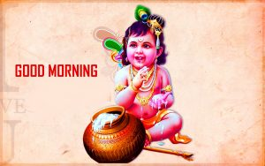 God Bal Krishna Good Morning Photo Pics Free Download