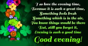 Best Quotes Good Evening Images