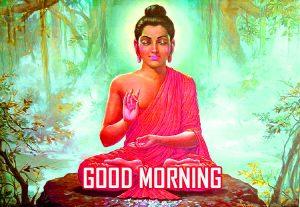 Gautam Buddha Good Morning Photo Pics Download