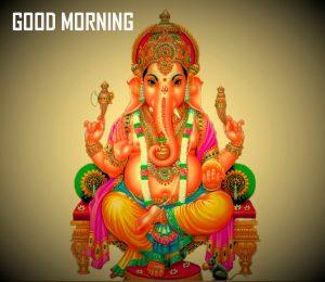 Bal Ganesha Good Morning Photo Pics Download