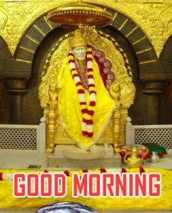 Om Sai Baba Good Morning Photo Pics Downlaod