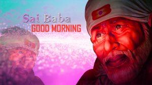God Sai baba good morning photo pics download