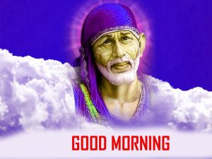 Sai Baba Good Morning Photo Pics Free Downlaod